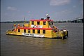 Water taxi approaching wharf Louisville Kentucky USA Ohio River mile 604 April 1993 file 93d071.jpg