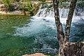 Waterfall Trail on Fossil Creek (29985353122).jpg