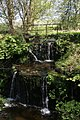 Waterfall at Geilston House - geograph.org.uk - 415731.jpg