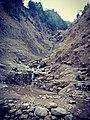 Waterfalls in AJK Highway.jpg