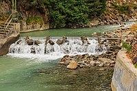 Waterwerken bij centrale Malga Mare. Bergtocht van parkeerplaats bij centrale Malga Mare naar Lago del Careser 01.jpg