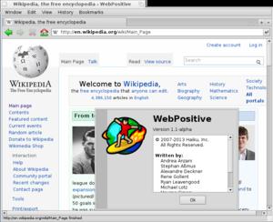 WebPositive - WebPositive
