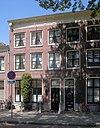 foto van Patriciershuis, verbouwd tot twee afzonderlijke woonhuizen