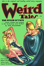 Weird Tales cover image for April 1936