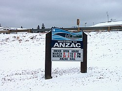 Welcome to Anzac Sign.JPG