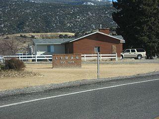Lyman, Utah Town in Utah, United States