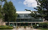 Welsh Institute of Sport, Cardiff - entrance.JPG