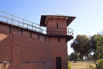 Wentworth Gaol - Gaol watch house.