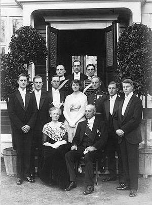 Gustaf Wersäll - Wersäll Family in 1918