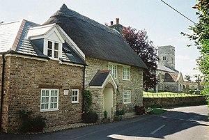 West Knighton, Dorset - Image: West Knighton, Church Cottage geograph.org.uk 532876