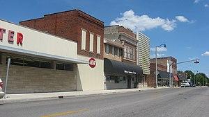 Oblong, Illinois - West Main Street downtown