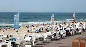 Westerland, Germany - Westerland beach