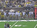 Western Michigan vs. Michigan 2011 12 (Michigan coaching staff).jpg