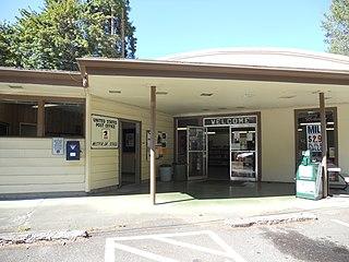 Westfir, Oregon City in Oregon, United States