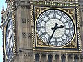 Westminster, the clock in front of Big Ben - geograph.org.uk - 867678.jpg
