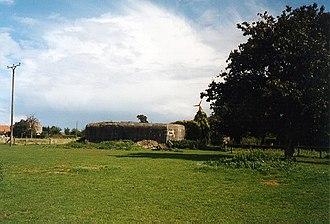 Siegfried Line - Geldern Emplacement bunker near Kleve