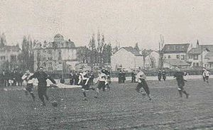 The White Rovers - The White Rovers playing against an unofficial German national team.