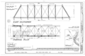 White Water Creek Bridge, Spanning White Water Creek, Bernard, Dubuque County, IA HAER IOWA,31-BERN.V,1- ; (sheet 2 of 5).png
