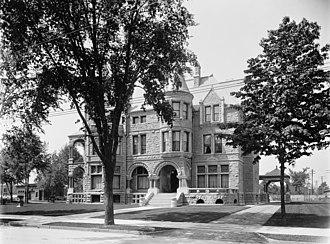 David Whitney House - The Whitney House, c. 1905