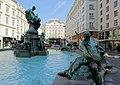 Wien - Donnerbrunnen, Fährmann.JPG