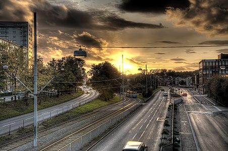 Wieselgrensplatsen in Gothenburg, Sweden.