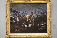 Wiki Loves Art - Gent - Museum voor Schone Kunsten - Roerdomp en eenden door honden verrast (Q21674583).JPG