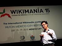Wikimanía 2015 - Day 4 - Luis von Ahn conference - LMM (11).jpg