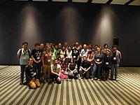 Wikimania 2015 - Wikidata group photo 2.JPG