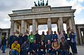 Wikimedians in front of Brandenburg gate during Wikimedia Conference 2016.jpg