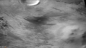 Wright (Martian crater) - Image: Wikiwrightdevils