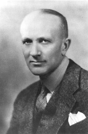 Wilder Penfield - Penfield in 1934