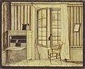Wilhelm Hauffs Zimmer im Kriegsministerium in Stuttgart, 1825, 2.jpg