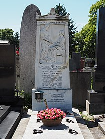 Wilhelm von Hartel family grave, Vienna, 2017.jpg