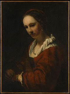 painting after Willem Drost; bequeathed as a Rembrandt in 1913