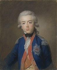 Willem George Frederik (Frederik; 1774-99), prins van Oranje-Nassau. Zoon van prins Willem V
