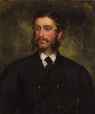 Francis Grant (artist) - William Thomas Markham, husband of Daisy Grant, portrait by Francis Grant