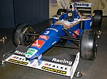 Williams FW19 front-left 2017 Williams Conference Centre 1.jpg