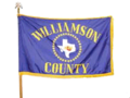Williamson County, Texas flag.png