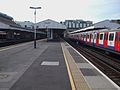 Wimbledon station mainline slow northbound look south.JPG