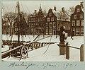 Winters havengezicht Harlingen, 1 Jan. 1901 (titel op object) Photographieën (serietitel), RP-F-2001-17-12-25.jpg