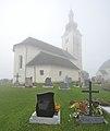 Wolfsberg Forst Pfarrkirche hl Johannes der Taeufer NO-Ansicht 03092014 228.jpg