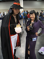 File:WonderCon 2012 - The Outrider and Tatyana from Venture Bros (6873032734).jpg