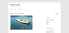 Description de l'image WordPress Twenty Twelve Theme.png.