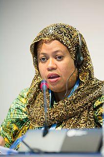 Bahia Massoundi politician from Comoros