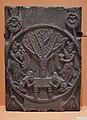 Worship of Bodhi Tree - Sandstone - ca 2nd Century BCE - Sunga Period - Bharhut - ACCN 294 - Indian Museum - Kolkata 2016-03-06 1561.JPG