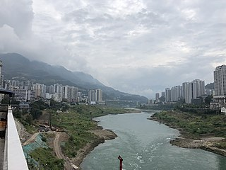 Wulong District District in Chongqing, Peoples Republic of China