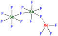 XeF4-2SbF5 complex.png