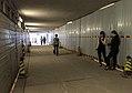 Xidan East Pedestrian Tunnel under construction (20170911111756).jpg
