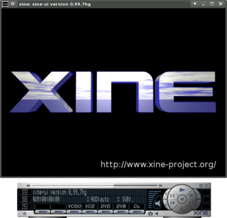 Xine - Image: Xine screenshot