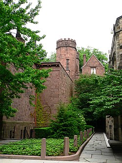 250px Yale Skull and Bones side rear towers view